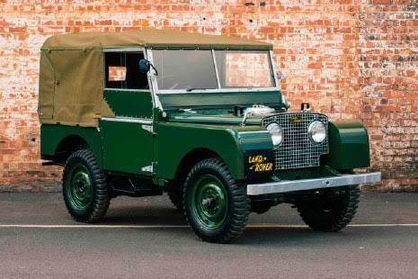 Land Rover Defender, 1948