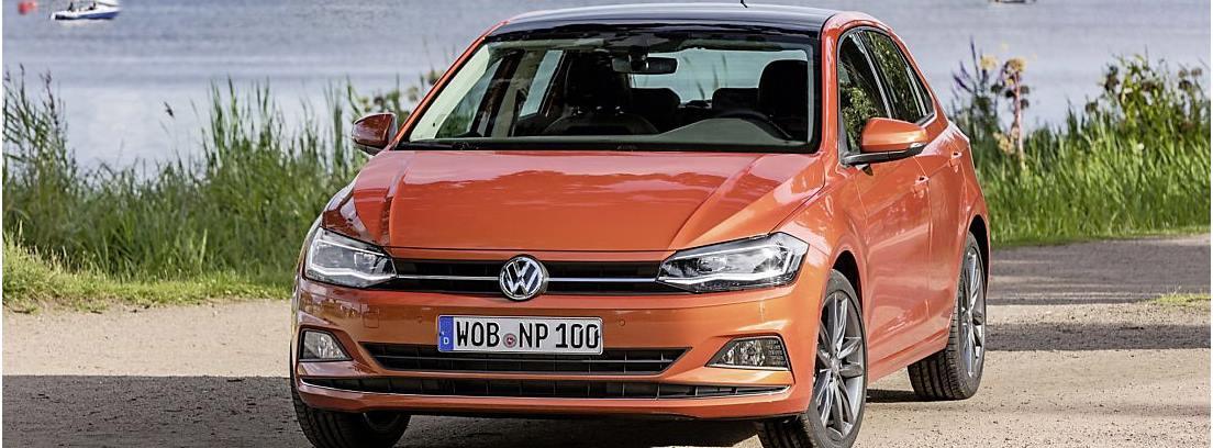 Frontal del Volkswagen Polo