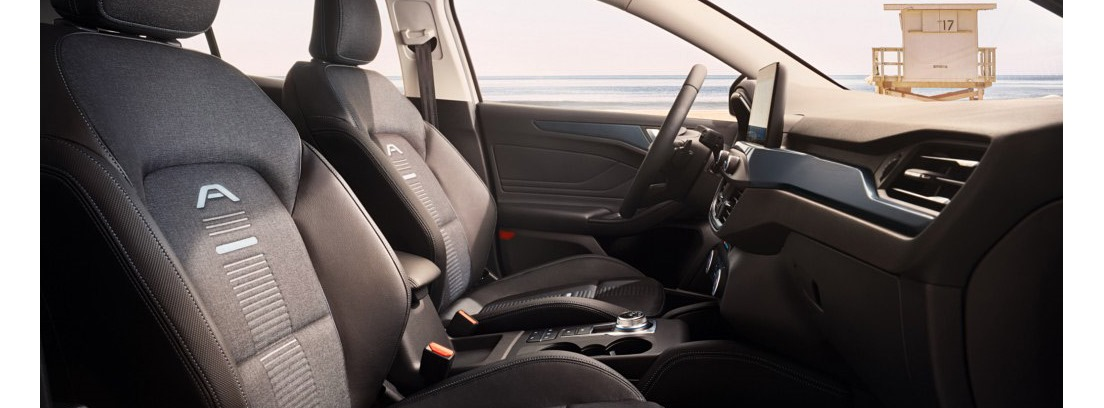 Ford Focus Active interior asientos