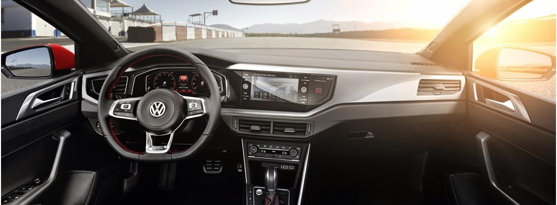 Interior del Volkswagen Polo 2017