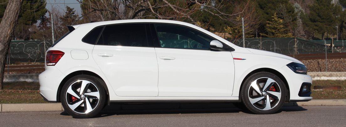 Lateral del Volkswagen Polo GTI