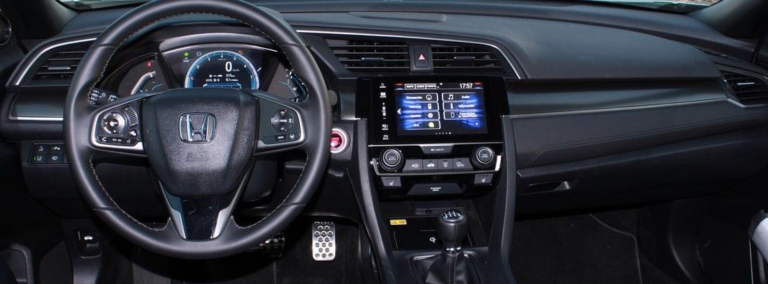 sistema Honda Sensing con su conjunto de asistentes a la conducción