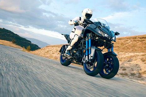 Yamaha Niken moto de tres ruedas