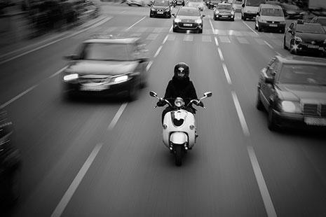 practicas carnet de moto scooter ciudad