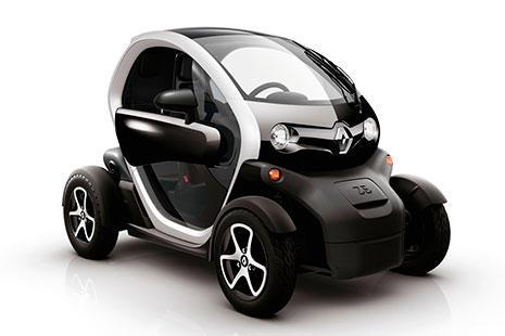 Renault Twizy coche moto eléctrica