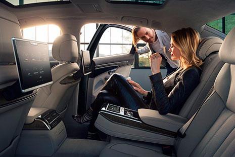 El interior del nuevo Audi A8 de 2018