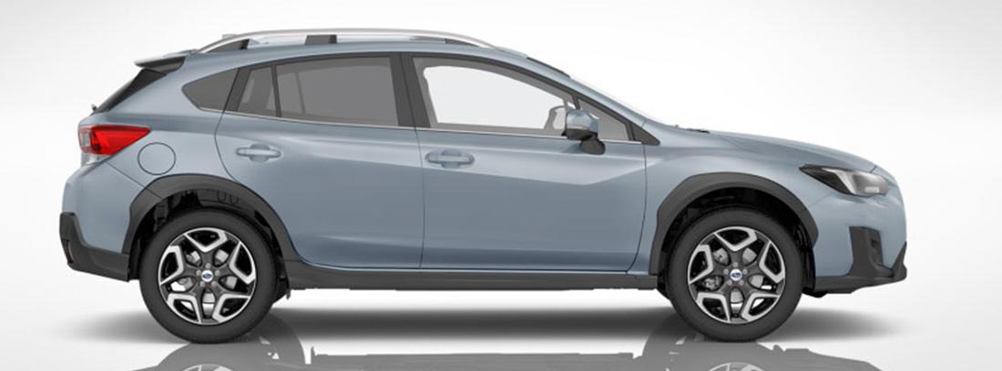 Vista frontal del nuevo Subaru XV 201