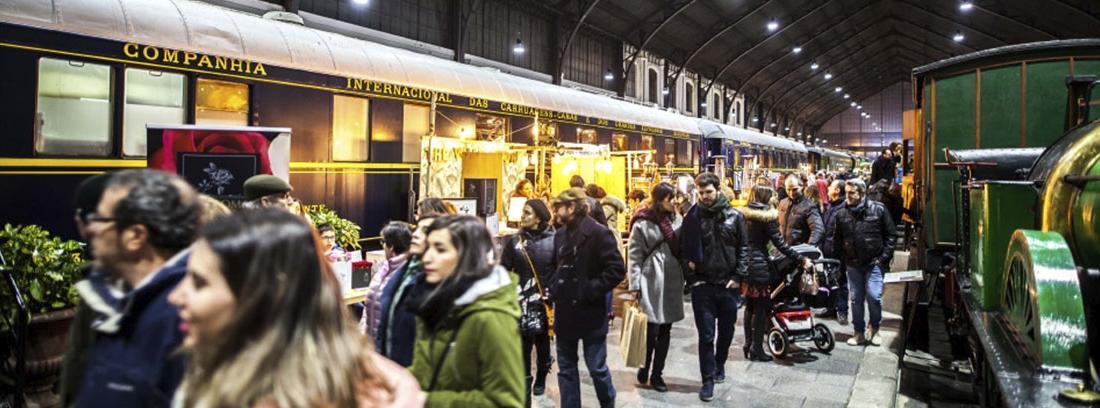El mercado de motores 2018 en el Museo del Ferrocarril