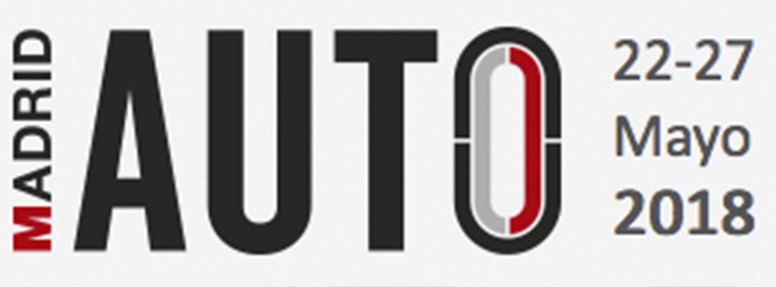 Logotipo del Salón del automóvil de Madrid 2018