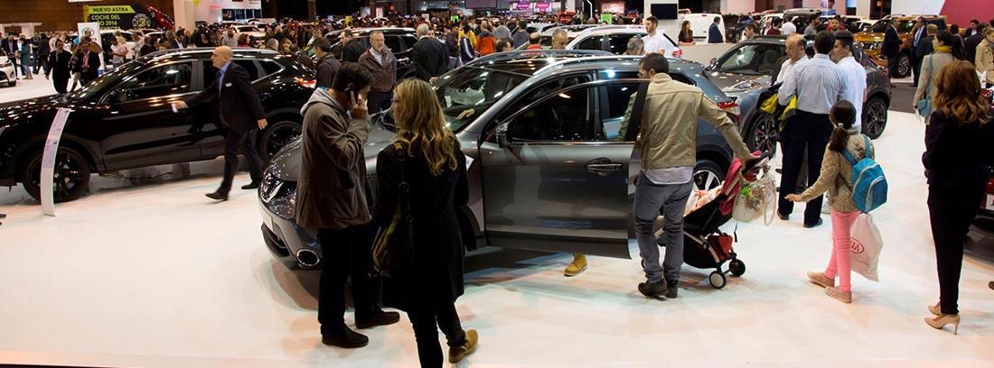 Actividades realizadas en el Salón del automóvil de Madrid 2018