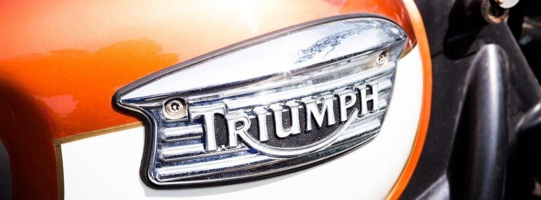 Moto Triumph para la que es necesario carnet A