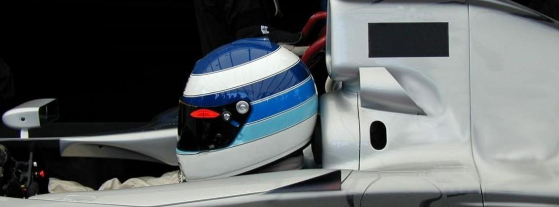 Casco piloto F1