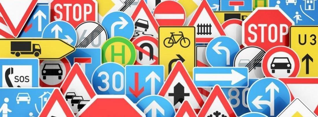 Así son las nuevas señales de tráfico