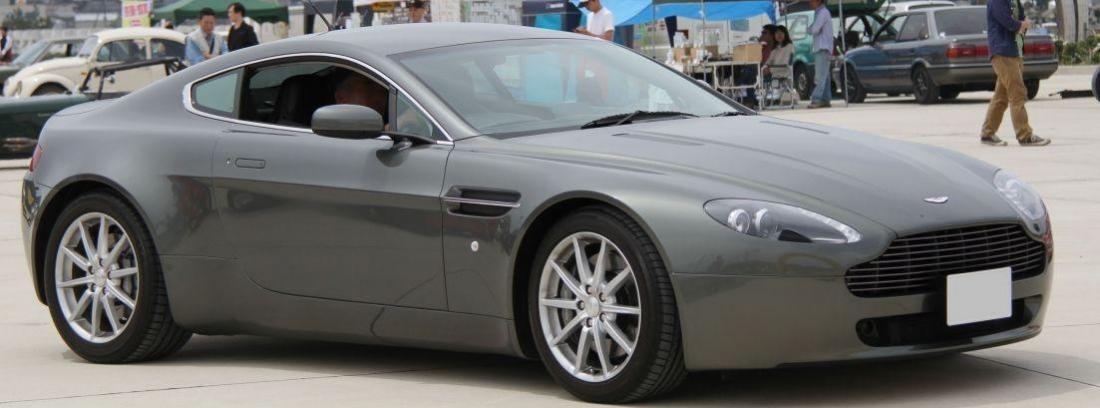 Imagen filtrada del nuevo Aston Martin Vantage