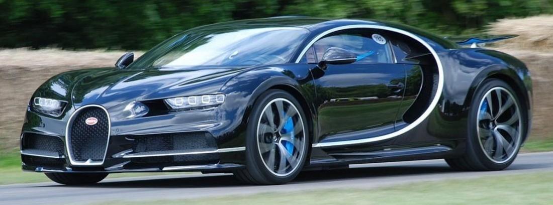 El Bugatti Chiron es espectacular en todos los aspectos