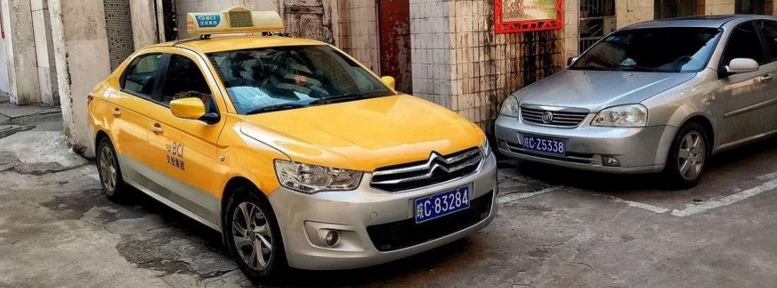 Citroën C-Elyéee de GLP para taxi