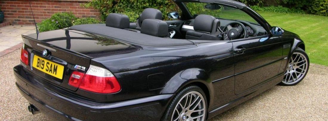 coches cabrio BMW sin capota