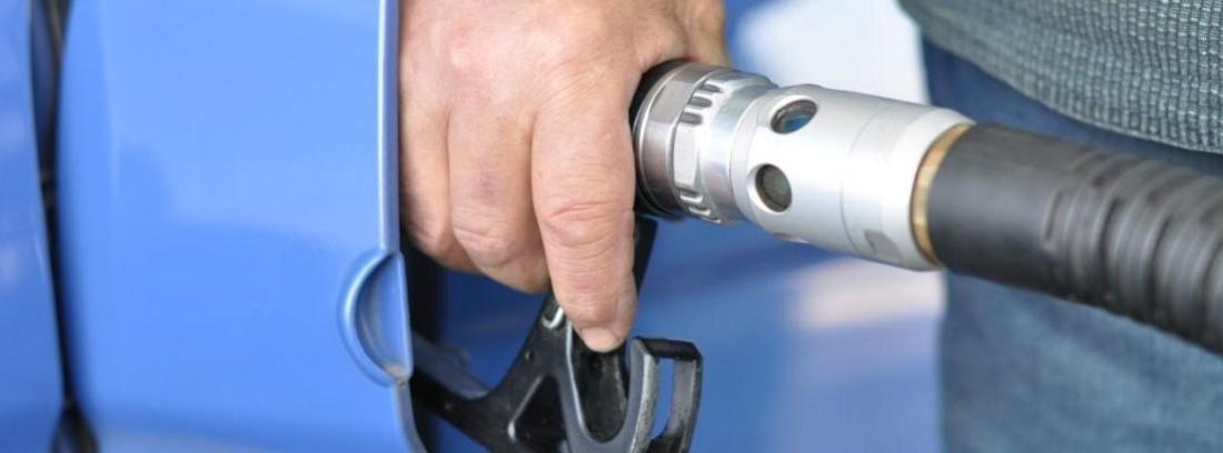 coche que funcione con gas repostar un coche
