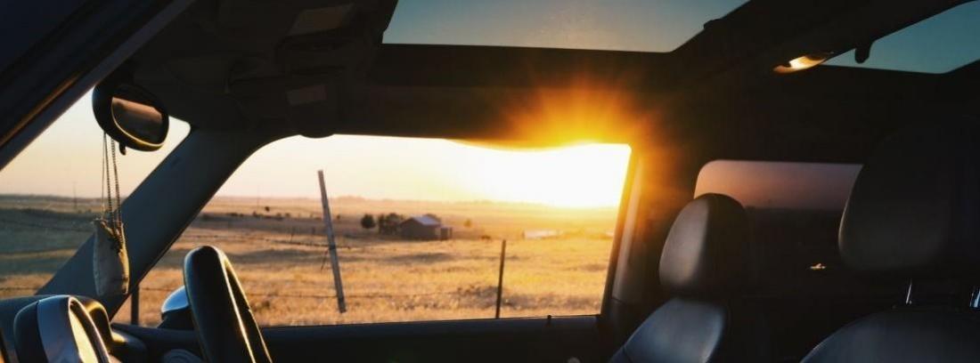 Fiat 500 al sol