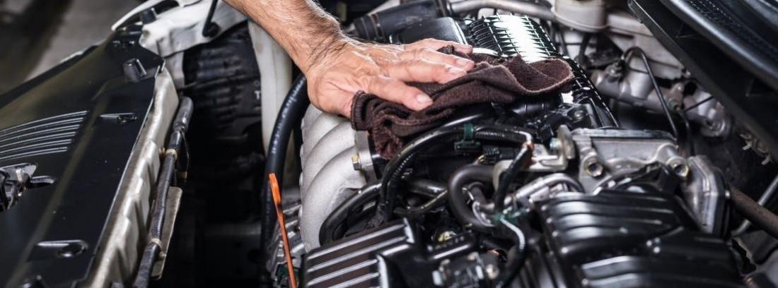 Cómo limpiar el motor del coche correctamente