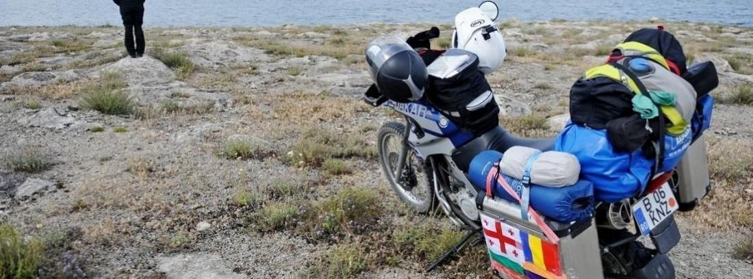 Cómo llevar el equipaje de forma segura en la moto