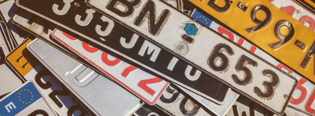 Cómo saber los años de un coche por la matrícula