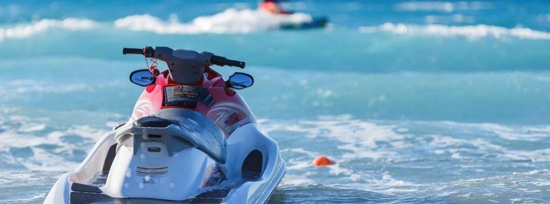 carnet de moto de agua