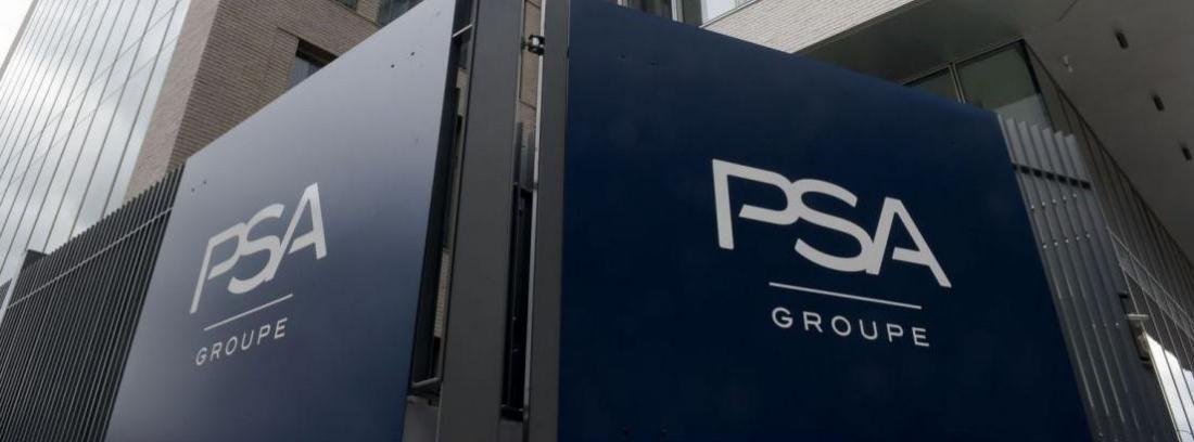 Logotipo del grupo PSA