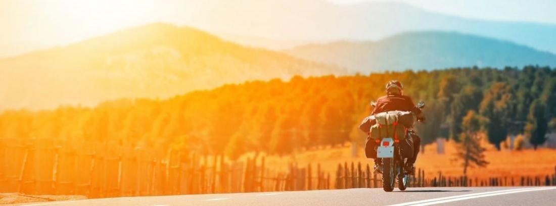 En moto por la ruta de la plata