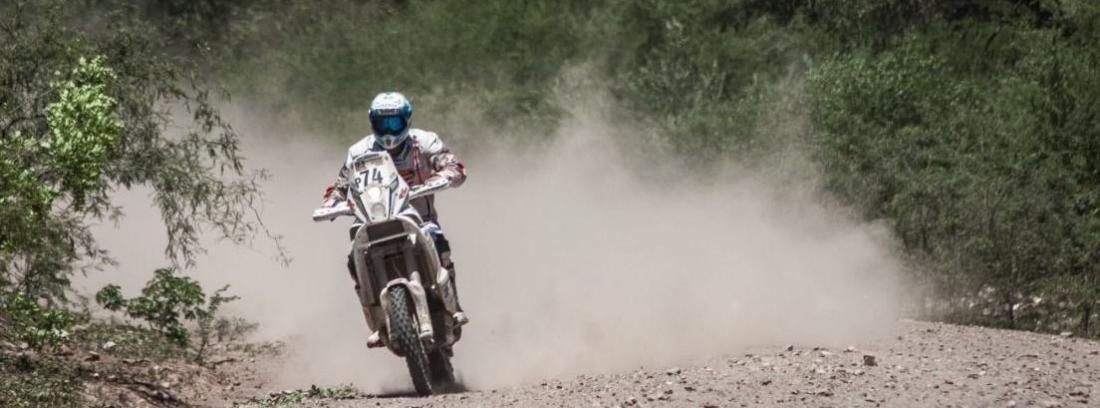 Una KTM en Dakkar