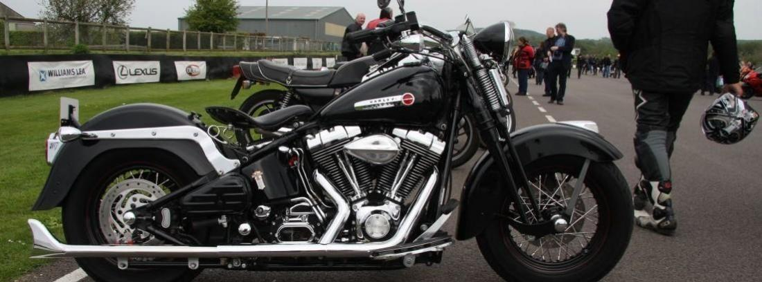 moto eleéctrica de Harley Davidson