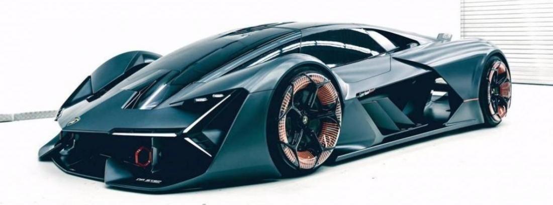 Frontal del impresionante Lamborghini Terzo Millenio