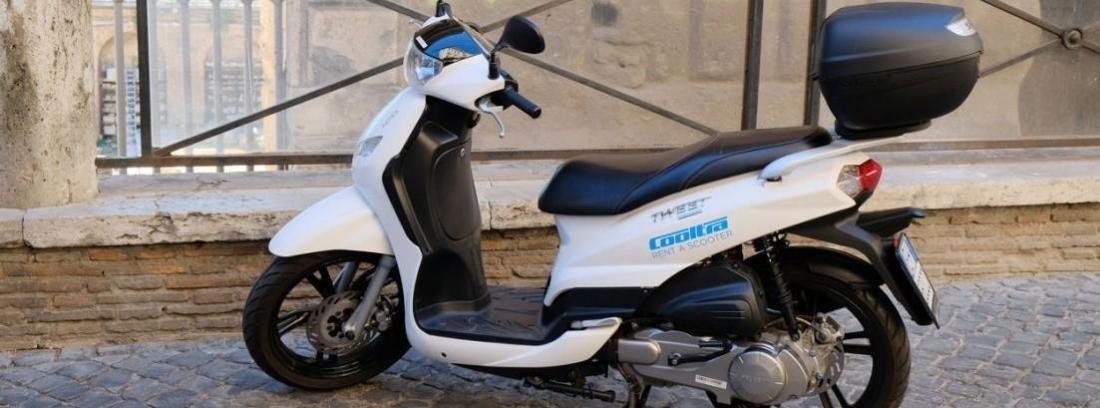 Llega a España la moto compartida de la mano de Cooltra