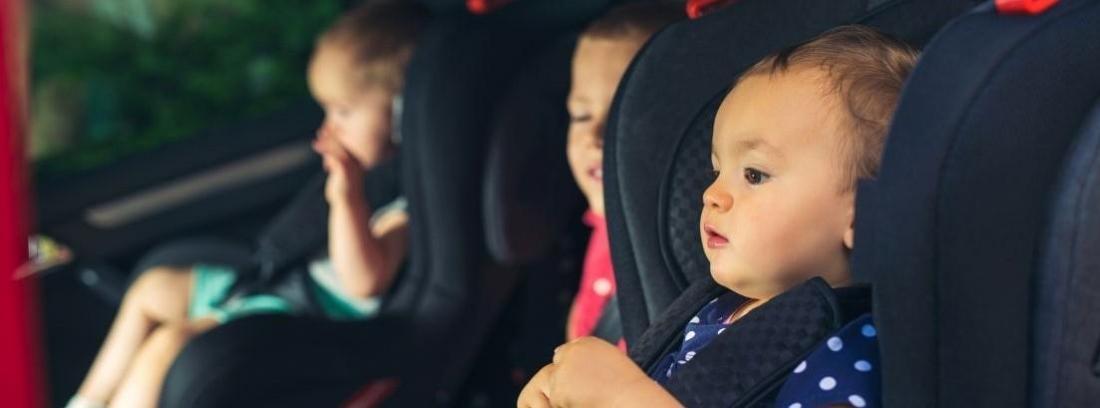 Los mejores coches para instalar tres sillas infantiles