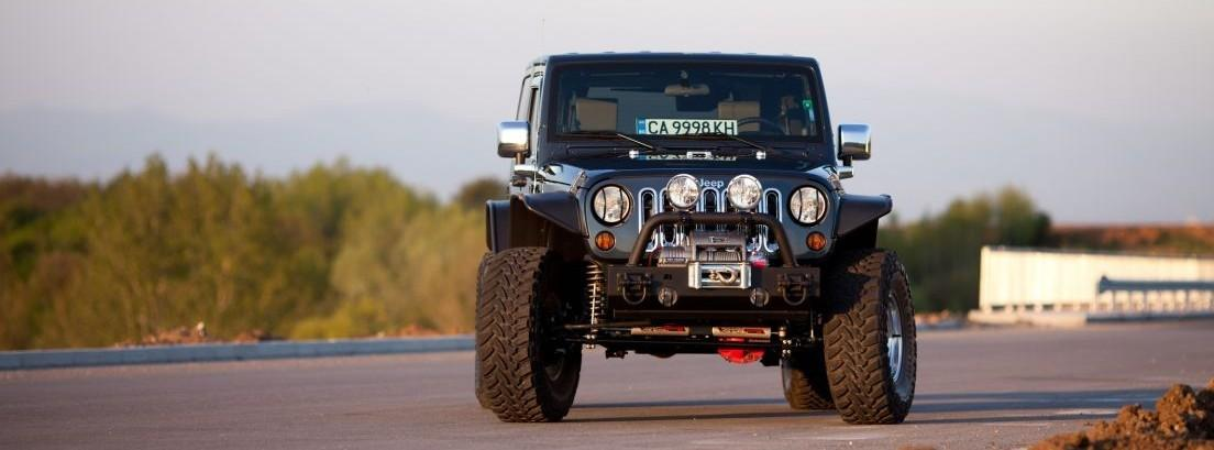 Jeep Wrangler negro