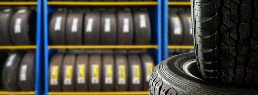 Etiqueta obligatoria en neumáticos Goodyear