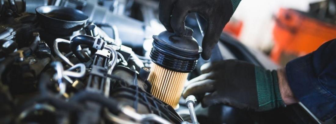 Mantenimiento de los filtros del coche