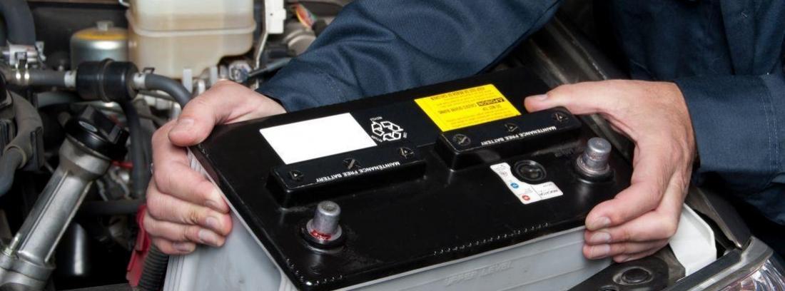 Mantenimiento y limpieza de los bornes de la batería