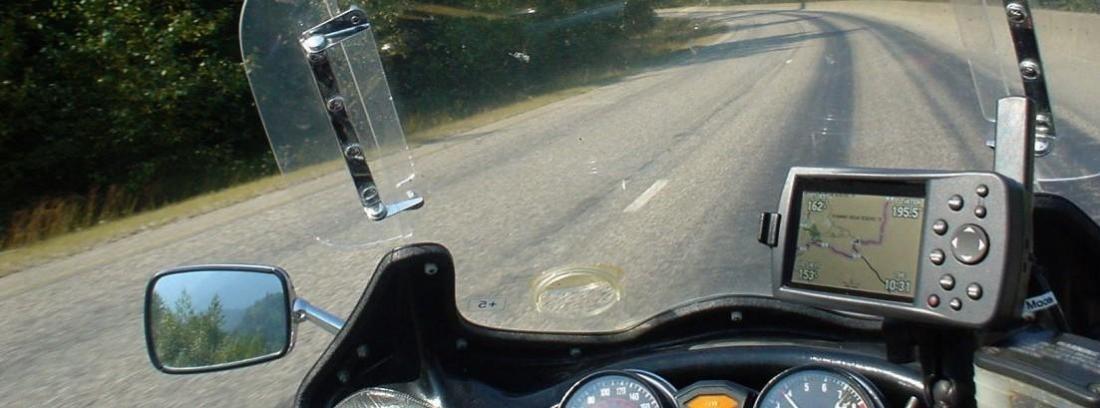 Navegadores GPS para la moto