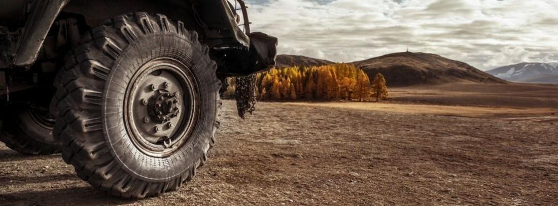 Neumáticos para un 4x4