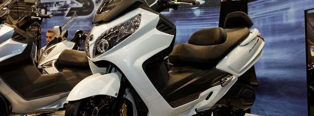 Nuevas scooter SYM Maxsym 400i y 600i