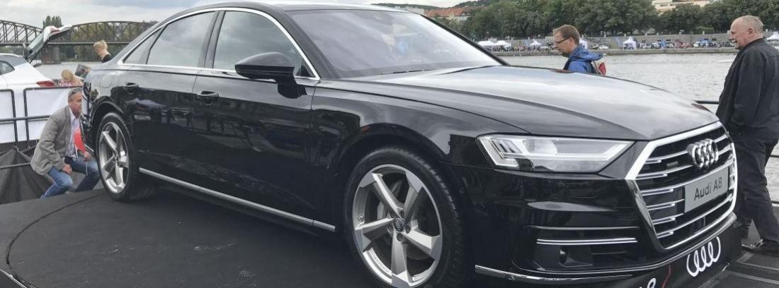 Audi comenzará a comercializar a finales de 2017 el nuevo A8.