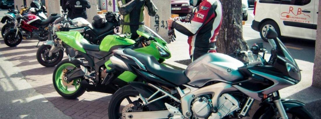 Papeles de moto