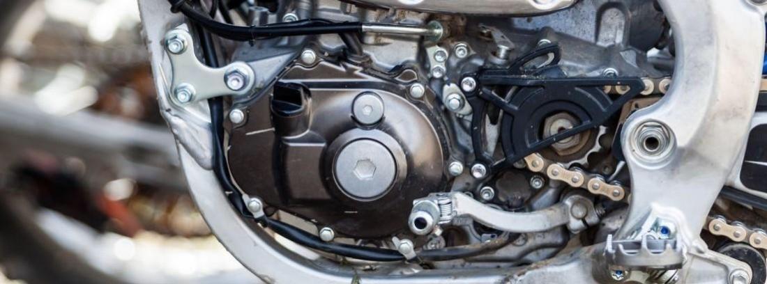 Motor de una moto