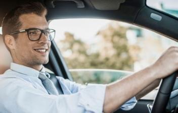 conducir con gafas
