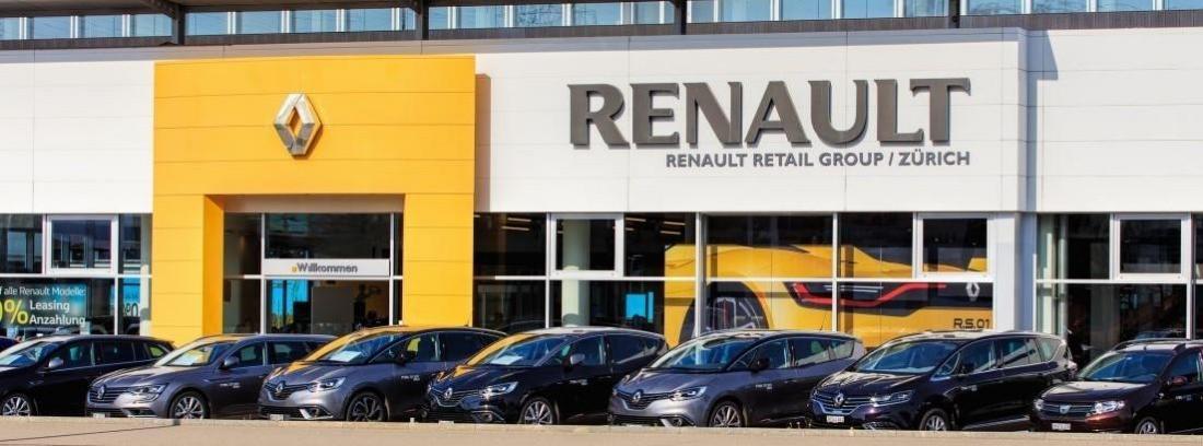 El Presidente en la Factoría de Renault