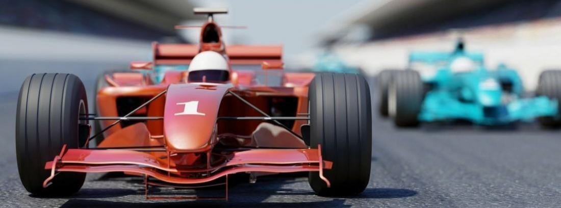 Coche de carreras de Renault