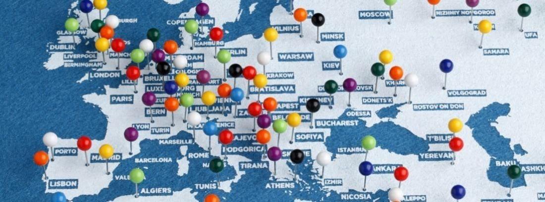 Ruta para recorrer Europa en coche