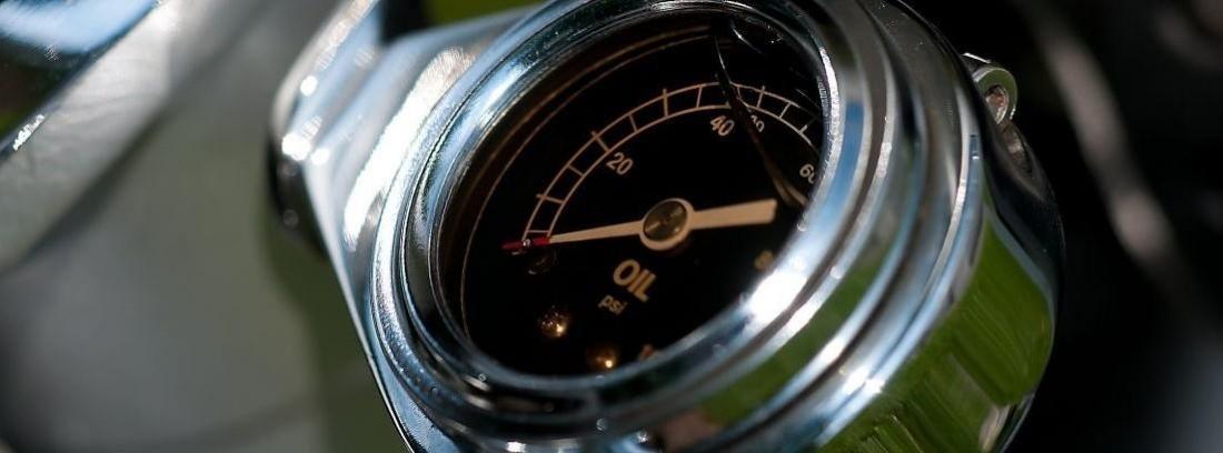medidor de aceite