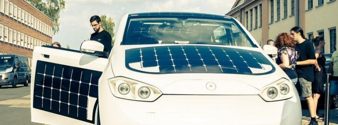 Un coche solar por menos de 16 mil euros